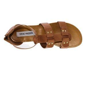 Steve Madden Shoes - Steve Madden Sukiii Sandal Cognac Gold Hardware